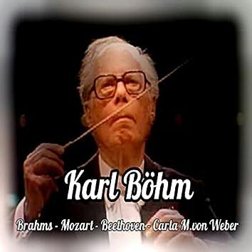 Karl Böhm, Brahms-Mozart-Beethoven-Carla M. von Weber