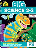 School Zone - Big Science Workbook - Ages 7 to 9, 2nd Grade, 3rd Grade, Weather, Seeds, Plants, Insects, Mammals, Ocean Life, Birds, and More (School Zone Big Workbook Series)