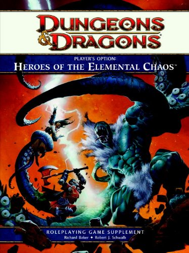 Player's Option: Heroes of the Elemental Chaos (Dungeons & Dragons)