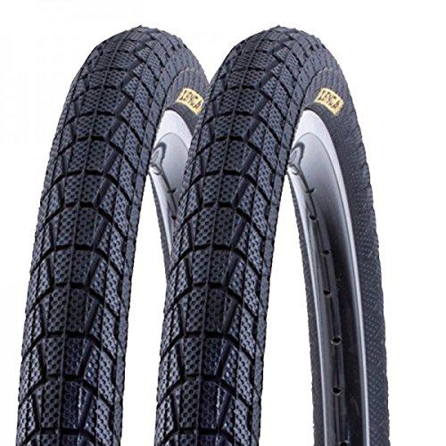 2 x Kenda neumáticos de bicicleta BMX Krackpot K-907 50-406 20 x 1.95 alambre negro