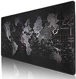 World Map Mousepad Mouse Pad Mat Gaming Laptop Computer Large (40x90cm)