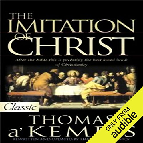 The Imitation of Christ audiobook cover art