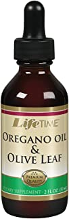Lifetime Oregano Oil and Olive Leaf Drops | for Healthy Immune System Support | 2 FL oz | 59 Servings