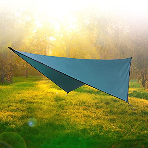 SXPSYWY Suministros de Camping Sunshade Outdoor Impermeable Sunscreen Tienda Círculo de Cuatro enamoras-Tinta_Doble