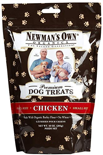 Newman's Own Dog Biscuits, Chicken Formula - Small, 10-oz. (Pack of 6)