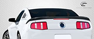 Carbon Creations Replacement for 2010-2014 Ford Mustang R-Spec Rear Wing Trunk Lid Spoiler - 3 Piece