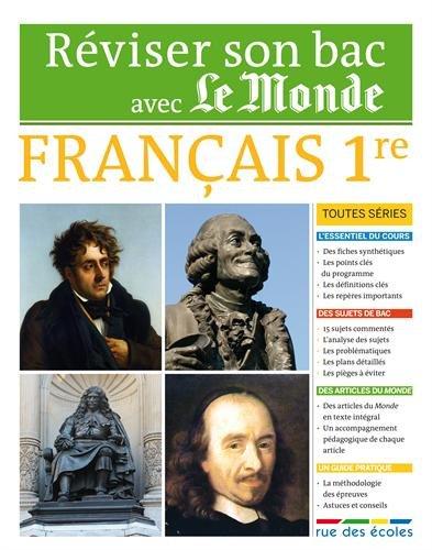Réviser son Bac avec Le Monde : Français 1re toutes séries