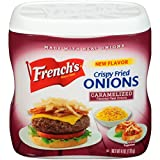 French's Caramelized Crispy Fried Onions, 6 oz