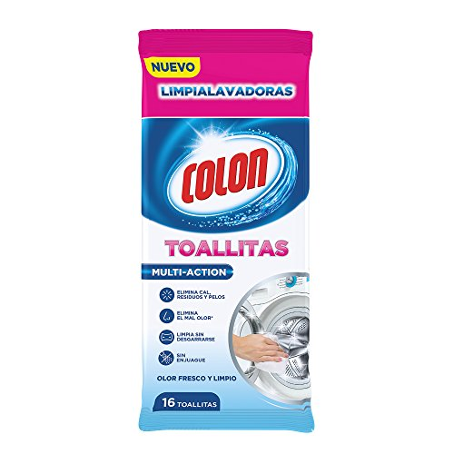 Colon Wipes limpialavadoras – 10 Packs of 16 – Total: 160 Pieces