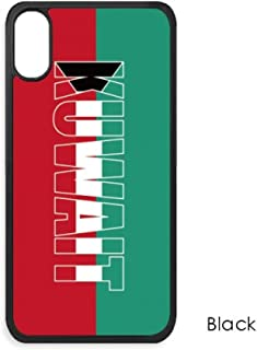 Kuwait Country Flag Name for iPhone Xs MaxS Max iPhonecase Cover Apple Phone Case