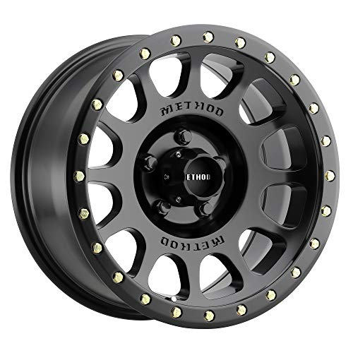 Method Race Wheels 305 NV Matte Black 17x8.5' 5x5', 0mm offset 4.75' Backspace, MR30578550500