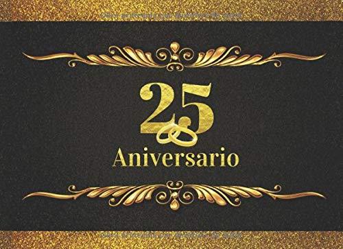 25 ANIVERSARIO: ELEGANTE LIBRO DE FIRMAS PARA CELEBRACIÓN DE ANIVERSARIO DE BODAS O CASADOS | RECOGE COMENTARIOS Y FELICITACIONES DE TUS AMIGOS Y ... RECIBIDOS | LIBRO DE VISITAS. BODAS DE PLATA.