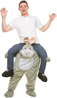 320d7cf7068 portez-moi drôle lapin Costume Adulte Taille Unique