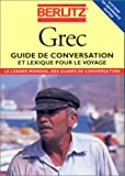 GREC. Guide de conversation et lexique pour le voyage