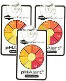 Seachem 3 unidades de dispositivos de alerta de pH, monitorea continuamente el agua dulce durante 3 a 6 meses cada uno