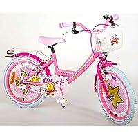 Bicicleta Niña Chica LOL Surprise18 Pulgadas Frens al Manillar Cesta y Portabultos Rosa 85% Montado