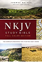 NKJV Study Bible, Hardcover, Full-Color, Comfort Print: The Complete Resource for Studying God's Word