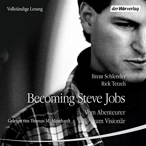Becoming Steve Jobs audiobook cover art