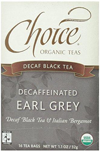 Choice Organic, Decaf Earl Grey, 16 ct