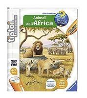 Ravensburger Italy 00631 00631Livre Tiptoi Animaux de l'Afrique, Couleurs Assorties