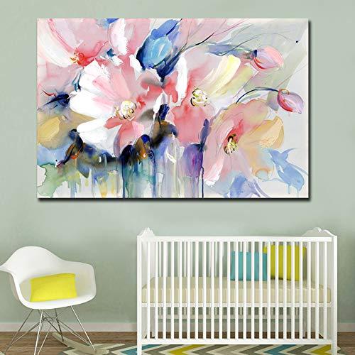 Redcolourful Moderne Wandkunst abstrakte Blumenbilder für Wohnzimmer Home Decor 40x60cm SH-0881