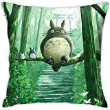 Not Applicable Cushion Cover,Vecinos Tot-Oro Forest Spirit Fundas De Almohada Decorativas para Sport Gym Athletic