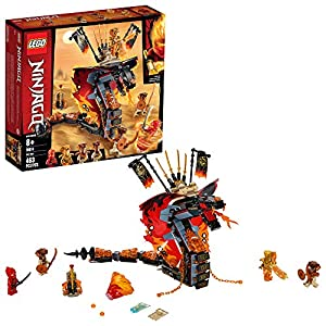 LEGO NINJAGO Fire Fang 70674 Snake Action Toy Building Set with Stud Shooters and Ninja Minifigures Characters, Perfect… - 51JMbeKRw2L - LEGO NINJAGO Fire Fang 70674 Snake Action Toy Building Set with Stud Shooters and Ninja Minifigures Characters, Perfect…