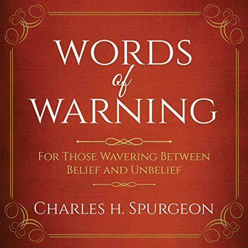 Bargain Audio Book - Words of Warning