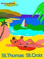 ERZAN大人のパズル木製パズル1500セントトマスセントクロイツヴァージン諸島カリブ海旅行大人子供パズル