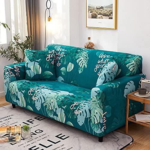 Elastiskt sofföverdrag stretch tecknat sofföverdrag för soffa stolskydd fåtölj anti-damm möbelskydd A20 3-sits