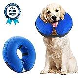 Supet Halskrause Hund Schützender Aufblasbarer Hundekragen Schutzkragen Krägen für Haustiere
