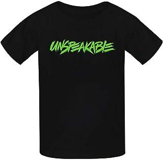 OWIIWJS Kids Unspeakable Logo t shirt Summer Tees Soft Crewneck Tops