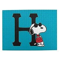 スヌーピー Snoopy 13 おしゃれ 木のパズルの500枚の漫画の大人の子供の益智の誕生日の贈り物 親子ゲーム キッズ 学習 認知 玩具 人気 漫画の男性と女性の?み合わせ のパズルの