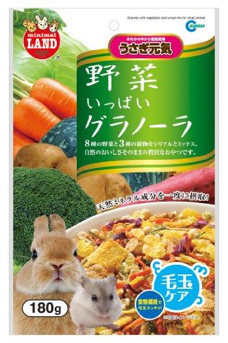 マルカン うさぎ元気 野菜いっぱいグラノーラ 180g ML-06