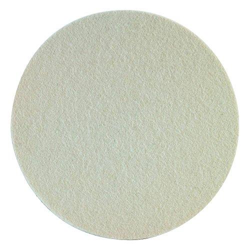 SONAX FilzPad 127 (2 Stück) hochwertiges stark abrasives FilzPad zur Verarbeitung von Schleifpasten | Art-Nr. 04933000