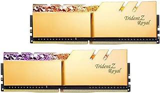 G.SKILL 16GB (2 x 8GB) Trident Z Royal Series DDR4 PC4-32000 4000MHz نموذج F4-4000C15D-16GTRG