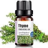 Aceites Esenciales de Aromaterapia - Natural 100% de Aceite Esencial Natural Conjunto de Difusores y Humidificadores con Caja de Regalo Exquisita (Tomillo, 10 ML)