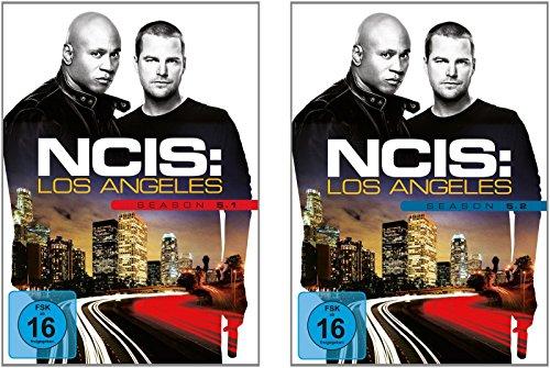 Preisvergleich Produktbild Navy CIS: L.A - Season 5.1 + 5.2 im Set - Deutsche Originalware [6 DVDs]
