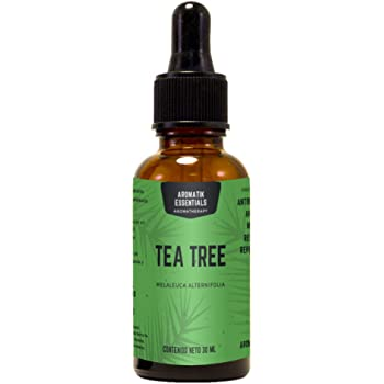 Aromatik Essentials: Aceite esencial de tea tree para aromaterapia 30ml (melaleuca alternifolia)