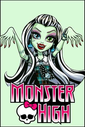 Monster High Notebook: Lined Pages Notebook Small Size 6x9 inches / 110 pages / Original Design For Cover And Pages / It Can Be Used As A Notebook, Journal, Diary, or Composition Book.