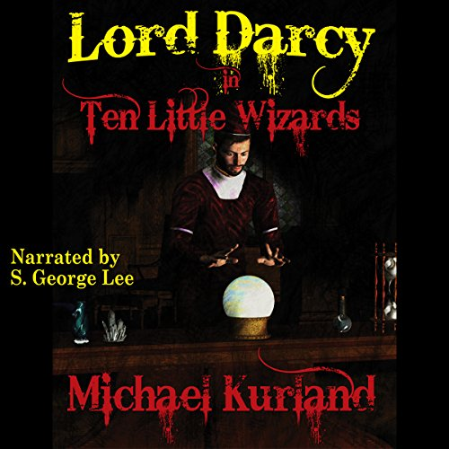 Ten Little Wizards audiobook cover art