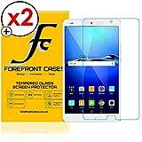 Forefront Cases Gehärtetes Glas Bildschirm Schutz Protektor Folie für Huawei MediaPad M3 8.4 - HD Qualität Ultra Dünn nur 0.3mm - 2 Stück