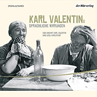 Karl Valentins sprachliche Wirrungen (Valentin-Edition 4) Titelbild