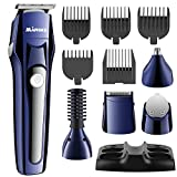 All in one Hair Trimmer for Men, Professional Hair Clipper Rechargeable Hair/Beard/Nose Hair/Body Trimmer Precision Trimmer for Detailing and Grooming, <span class='highlight'><span class='highlight'>EOSVAP</span></span> Electric Grooming Kit