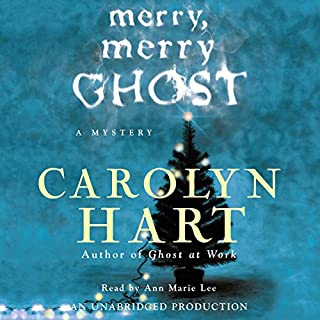 Merry, Merry Ghost audiobook cover art