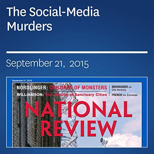 The Social-Media Murders audiobook cover art