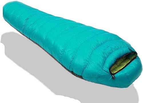 SHUIDAI Le sac de couchage camping plein air , coral bleu , 1500g