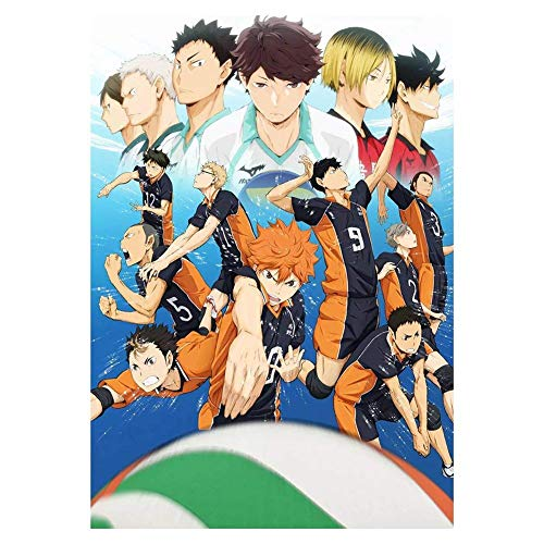 Haikyuu!! Anime-Posterdruck, 30 x 46 cm, mattes Finish, Papiermaterial, Geschenk, dekorativer Druck