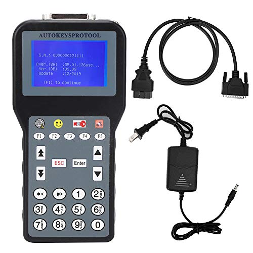 Key Programmer Tool, CK100+ Car Key Programmer V99.99 Replacement Multi-Language Auto Tool US 100V-240V