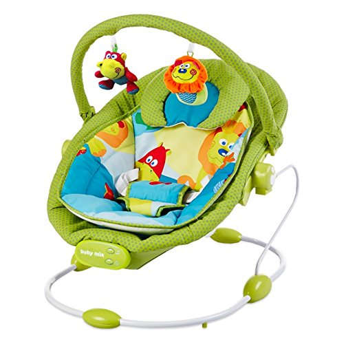 Baby Vibrating Musical Bouncer, Baby Rocker Chair, Hanging Ball Toys -...